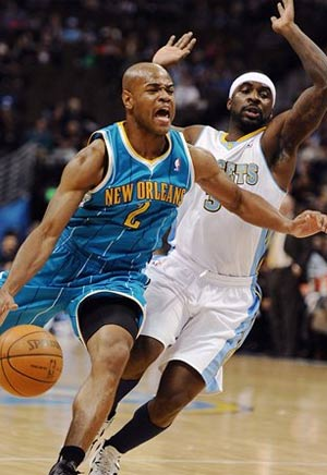 Landry scores 21 as Hornets beat the Nuggets