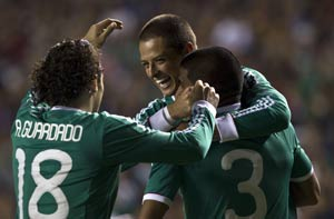 Mexico beats Brazil 2-0 in qualifying warm-up