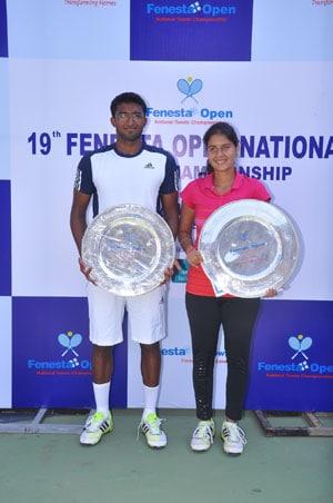Fenesta Open: Mohit Jayaprakash, Prerna Bhambri win men's and women's titles respectively