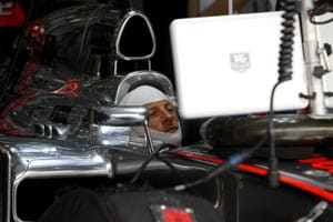 Jenson Button happy to save a set of tyres