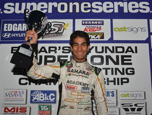 Force India Academy driver Jehan Daruvala crowned British Karting Champion