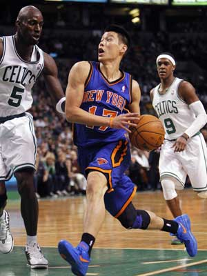 Lin stalls back in Boston, Celtics beat Knicks 115-111