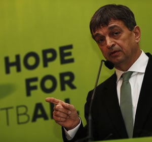 Frenchman Jerome Champagne takes on Sepp Blatter, launches bid for FIFA presidency