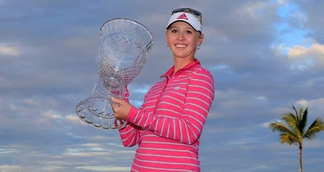 Jessica Korda birdies last hole to win Bahamas LPGA Classic