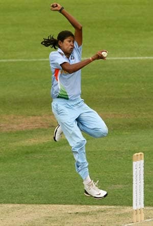 Raut, Goswami lead India to easy win in ICC Women's World Cup warm-up