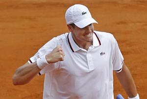 Davis Cup: Isner pulls United States even with France