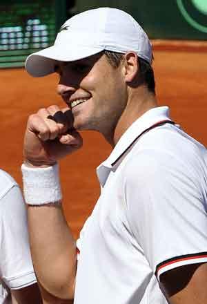 Isner, Lopez advance to US clay-court semis