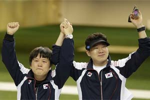 Shooter Jin Jong-oh wins 2nd London Olympic gold