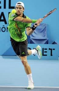 Jurgen Melzer keeps up perfect push