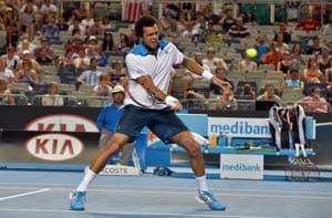 Jo-Wilfried Tsonga into third round at Australian Open