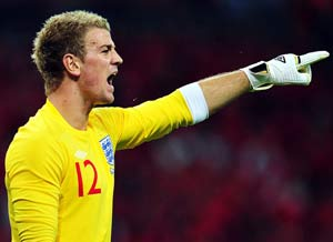 Hart ready to take a back seat as England face minnows