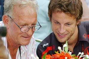 Jenson Button's father dead at 70