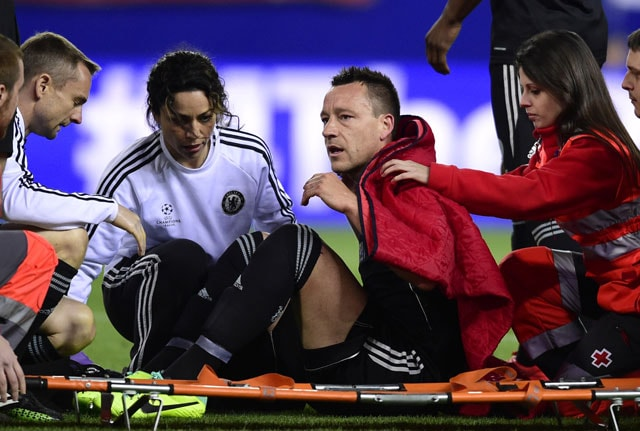 Injured Chelsea F.C. stars John Terry, Petr Cech out for rest of season
