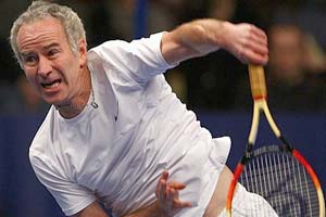 McEnroe wins doubles exhibition at SAP Open