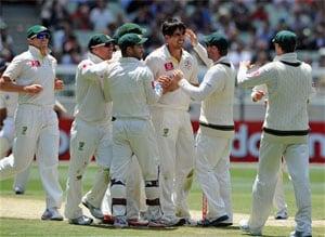 The Ashes: Australia on top as Mitchell Johnson destroys England