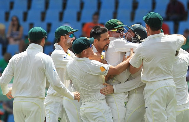 1st Test: Australia beat South Africa by 281 runs as Mitchell Johnson claims 12 wickets