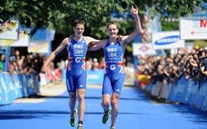 Triathlon triumph could be family affair