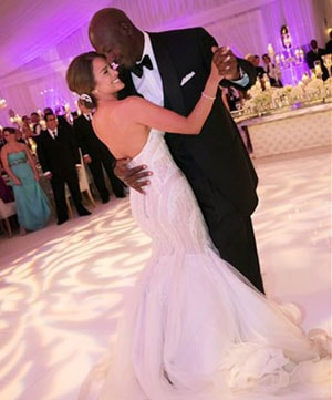 Basketball legend Michael Jordan marries ex-model Yvette Prieto
