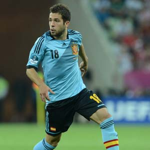 Barcelona to sign Spain left back Jordi Alba