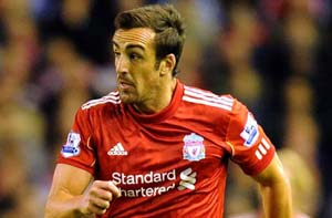 EPL: Liverpool's Jose Enrique out for ten weeks