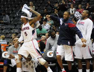Hawks close preseason with 92-75 win over Bobcats