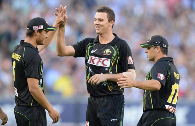 2nd T20: Josh Hazlewood, George Bailey guide Australia to 8-wicket win over England