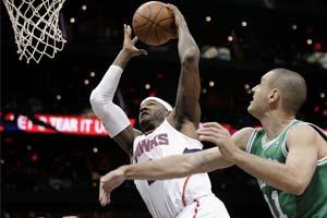 Smith leads Hawks past Celtics 83-74; Rondo tossed
