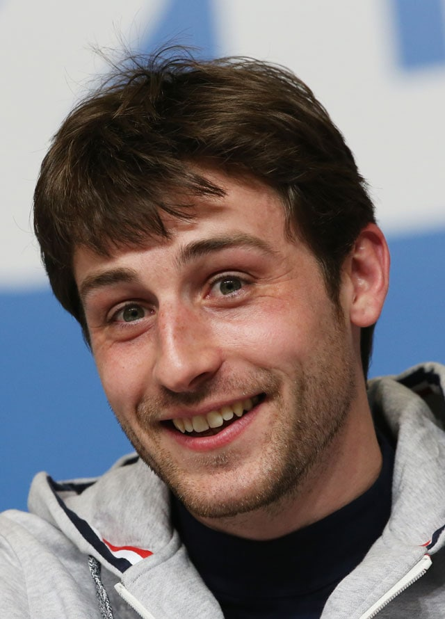 Sochi 2014: Girls go wild for skating heart-throb Brian Joubert