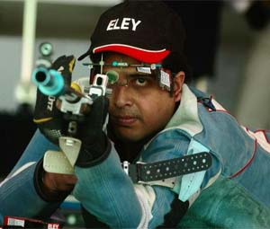 Bengal shooter wants Ganguly to cheer him at Olympics
