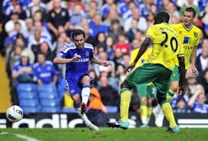 Drogba injury overshadows Chelsea win over Norwich