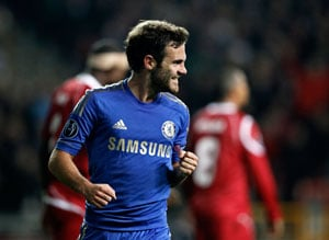 EPL: Juan Mata doesn't train with Chelsea, Manchester United move looms