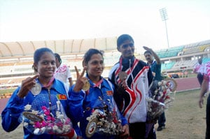 Indians win 12 gold on Day 1 of Asian Junior Athletics Championships