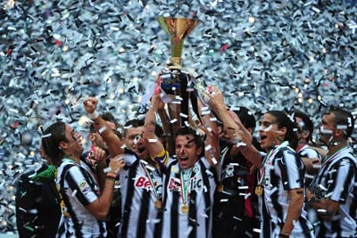 Juventus win Serie A; match-fixing clouds Italy