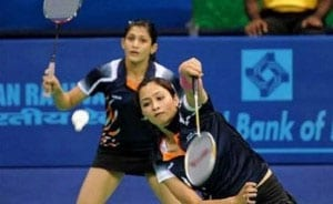 Ashwini Ponnappa - Tarun Kona Ousted From World Badminton Championships