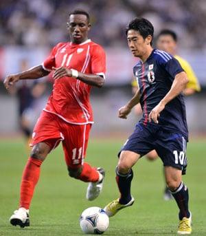 Kagawa fails to shine in Japan friendly