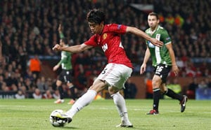 Shinji Kagawa returns to Japan with Manchester United