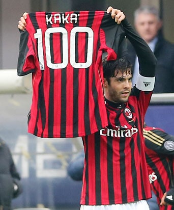 Serie A: Kaka scores 100th goal as AC Milan beat Atalanta