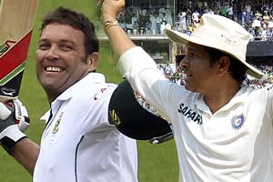 Jacques Kallis is a 'true champion' of the game, tweets Sachin Tendulkar