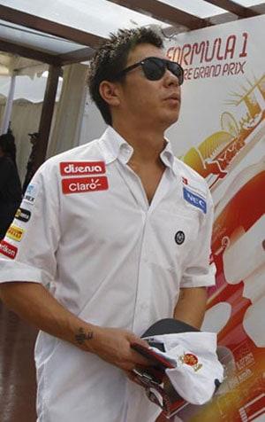 Indian GP: Butter chicken on Kamui Kobayashi's mind