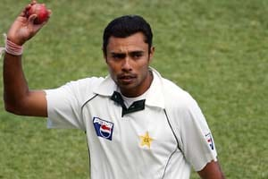 Danish Kaneria's presence in stadium causes a stir