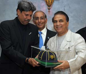 Gavaskar inducted into ICC Cricket Hall of Fame
