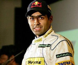Karun Chandhok's team third in Dubai 24 Hours race