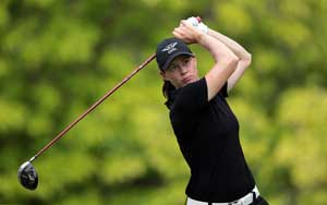 Three stay tied for lead at HSBC Women's Champions