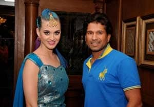 One of the best cricket players: Katy Perry on SachinTendulkar