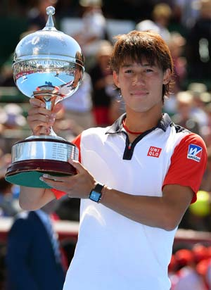 Kei Nishikori follows Chang example with Kooyong title