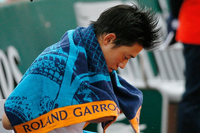 French Open: Kei Nishikori Stunned by Martin Klizan in First Round