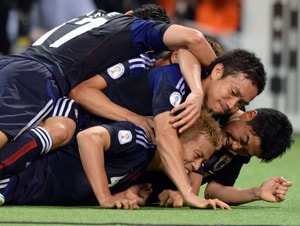 Japan becomes 1st team to reach 2014 World Cup