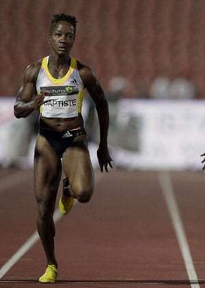 Sprinter Kelly-Ann Baptiste tests positive, quits world championships: report