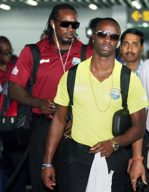 West Indies squad arrives in Kolkata for Test, ODI series