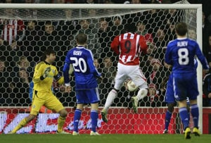 Stoke through in Europa League as Fulham beaten